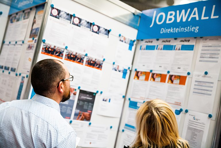 Jobmesse Jobwall